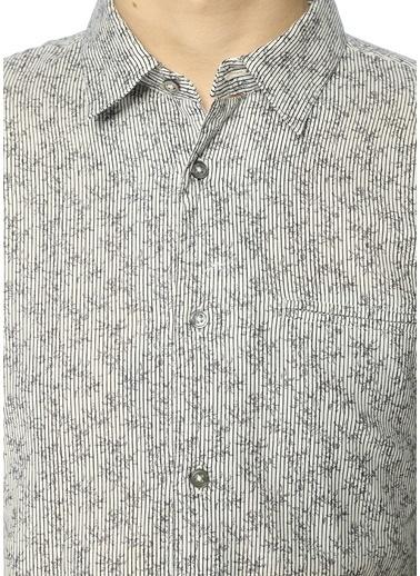 Desenli Uzun Kollu Gömlek-John Varvatos